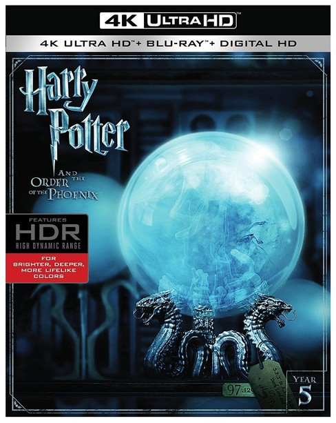 Harry Potter and the Order of the Phoenix (4K/UHD + Blu-ray) - image 1 of 1