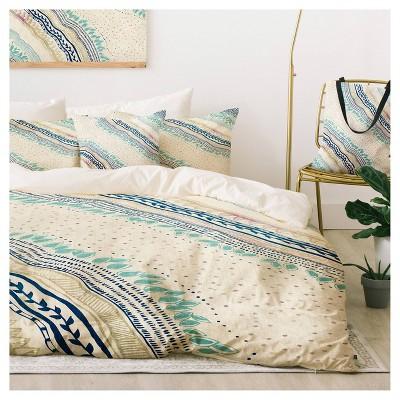 Blue Rosebudstudio Carefree Duvet Cover Set King Deny Designs Target