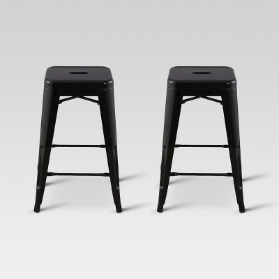 Carlisle 24  Metal Counter Stool - Black (Set of 2)- Threshold™
