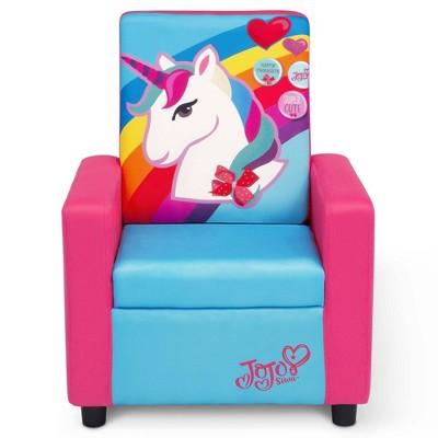 JoJo Siwa Kids' High Back Upholstered Chair - Delta Children
