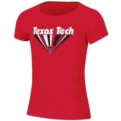NCAA Texas Tech Red Raiders Girls' Short Sleeve Scoop Neck T-Shirt