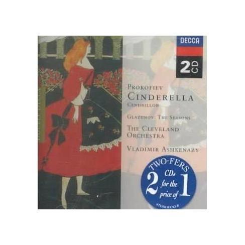 Glazunov - Prokofiev: Cinderella, Op. 87; Glazunov: Seasons Op67 (CD) - image 1 of 1