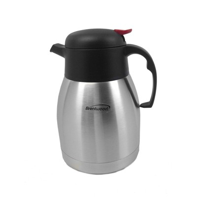 Brentwood 1.0L Vacuum Stainless Steel Coffee Pot
