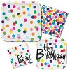 10ct French Bull Birthday Dots Invitations - image 2 of 2