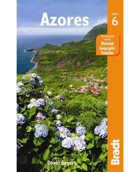 Bradt Azores (Paperback) (David Sayers) - image 1 of 1