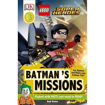 DK Readers L3: Lego(r) DC Comics Super Heroes: Batman's Missions - (DK Readers Level 3) (Paperback)