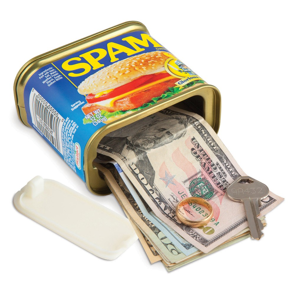 Image of Spam Can Decorative Coin Bank - BigMouth Inc.