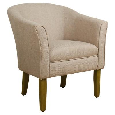 Charmant Textured Tub Chair   HomePop