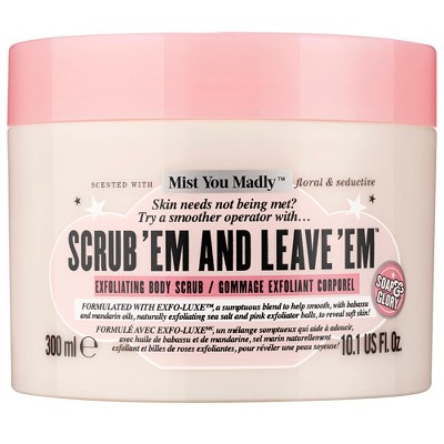view Soap & Glory Mist You Madly Scrub 'Em & Leave 'Em Body Exfoliator - 10.1oz on target.com. Opens in a new tab.