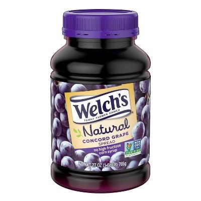 Welch's Natural Concord Grape Spread - 27oz