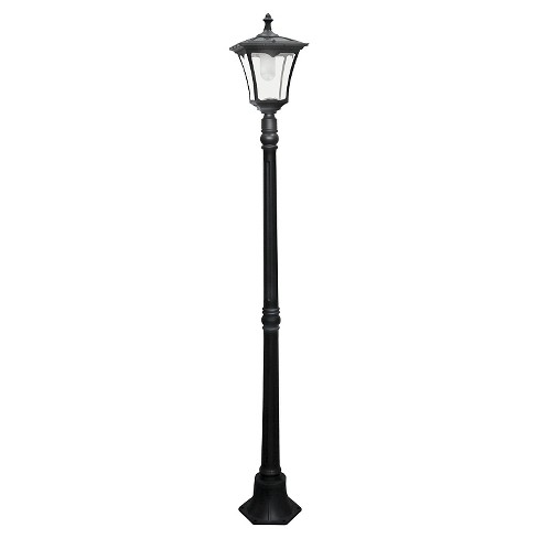 Outdoor Lamp Post Paradise Black