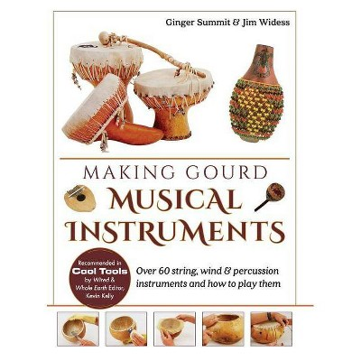 Making Gourd Musical Instruments - by  Ginger Summit & James Widess (Hardcover)