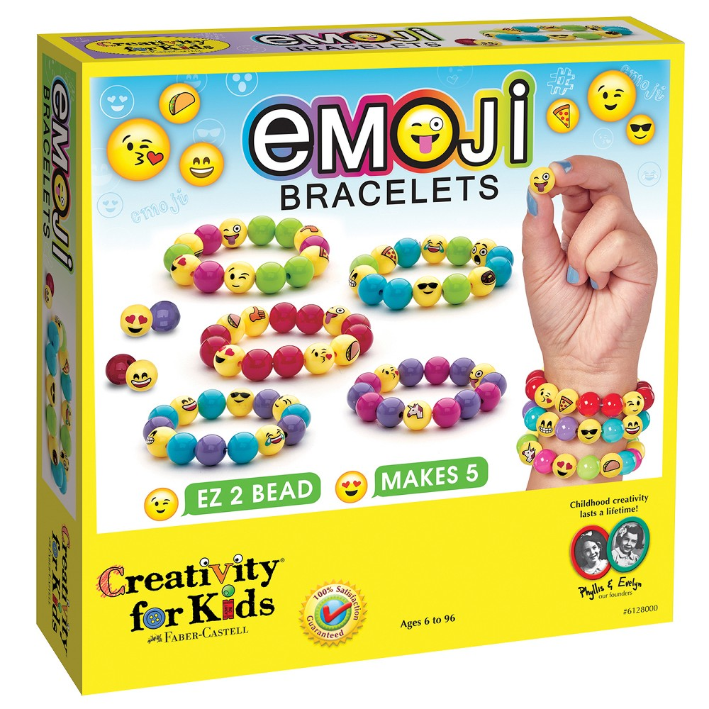 Image of Creativity for Kids Jewelry Kit - Emoji Bracelets