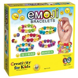 Creativity for Kids Jewelry Kit - Emoji Bracelets