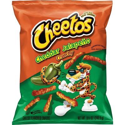 Cheetos Jalapeno Cheddar Snacks - 8.5oz