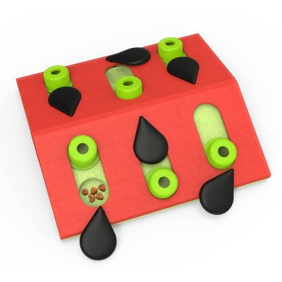 Petstages Nina Ottosson Melon Madness Interactive Treat Puzzle Cat Toy