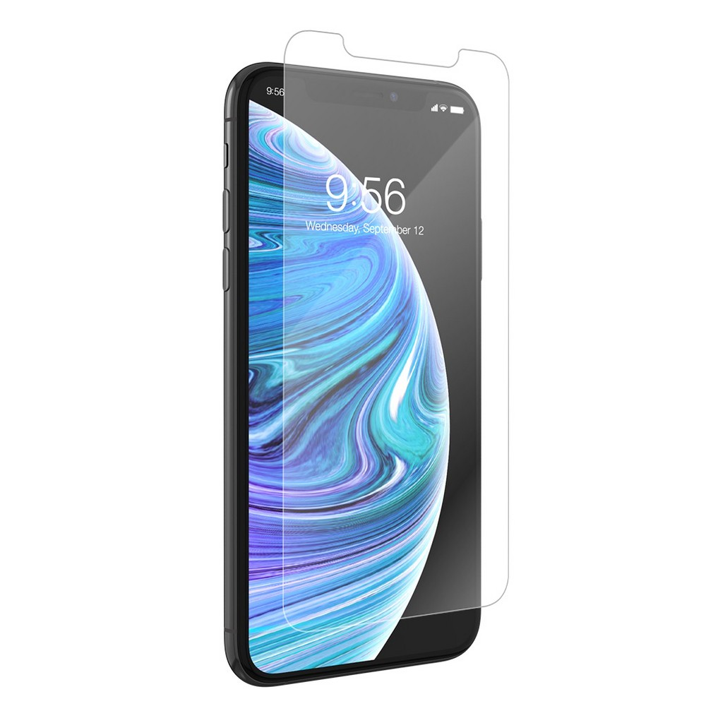 Zagg Apple iPhone X/XS InvisibleShield Glass+ Smudge Proof Screen Protector, Clear Zagg Apple iPhone X/XS InvisibleShield Glass+ Smudge Proof Screen Protector Color: Clear. Pattern: Solid.