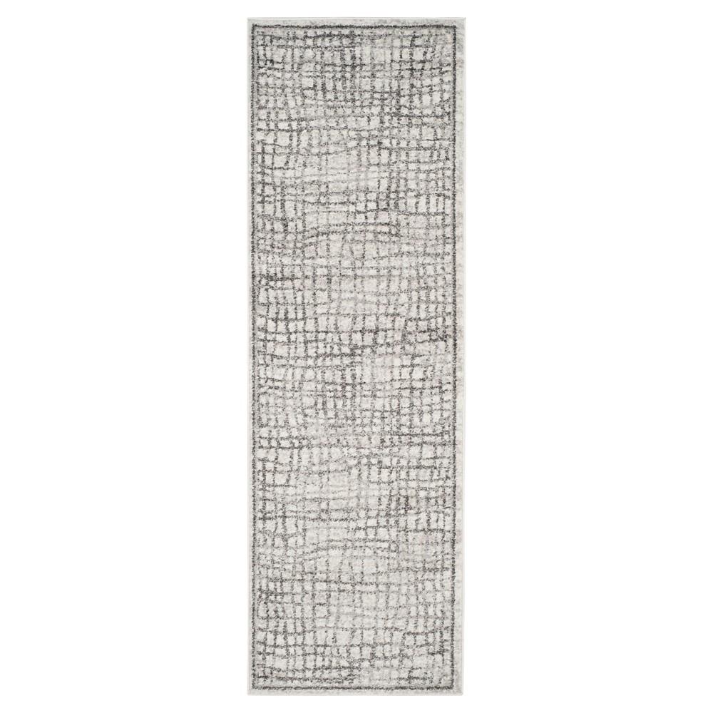 Adirondack Rug - Silver/Ivory - (2'6x8') - Safavieh