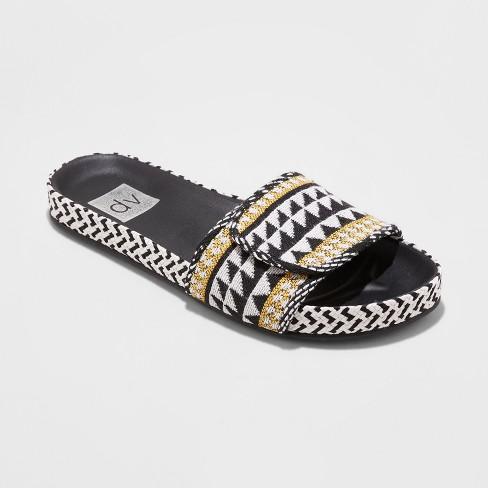 8ff18d8a9 Women s Dv Annalyse Woven Slide Sandals   Target