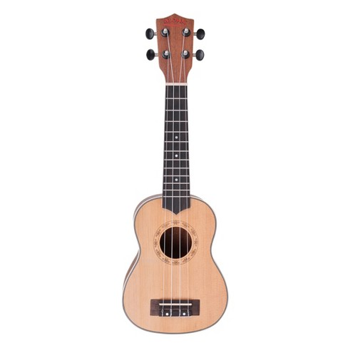 Aloha Soprano Size Ukulele with Bonus Gig Bag - image 1 of 3