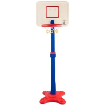 Costway Kids Children Basketball Hoop Stand Adjustable Height Indoor Outdoor Sports