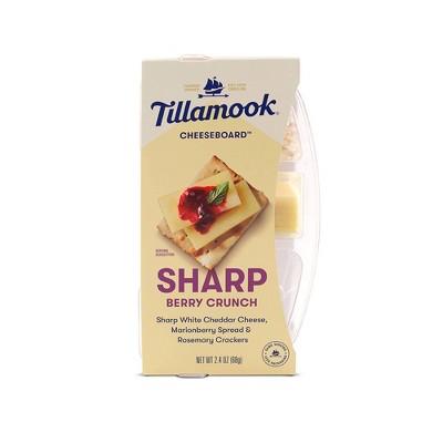 Tillamook Sharp Berry Crunch Cheese Snack - 2.4oz