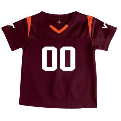 NCAA Virginia Tech Hokies Toddler Boys' Short Sleeve Jersey