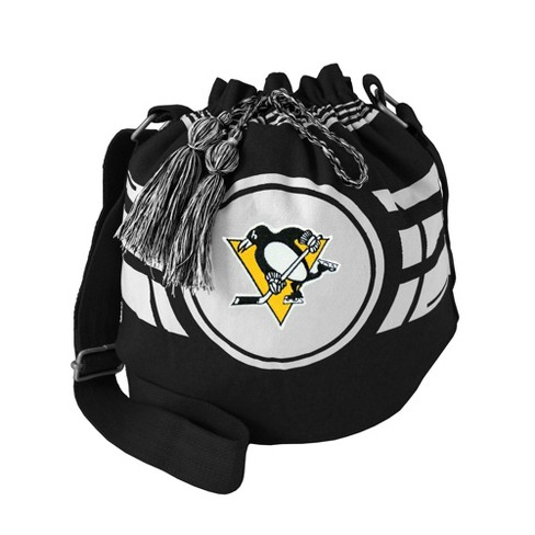 NHL Pittsburgh Penguins Ripple Drawstring Bucket Bag - image 1 of 1