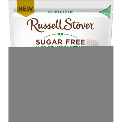 Russell Stover Sugar Free Candy Coated Chocolate Pc - 7.5oz