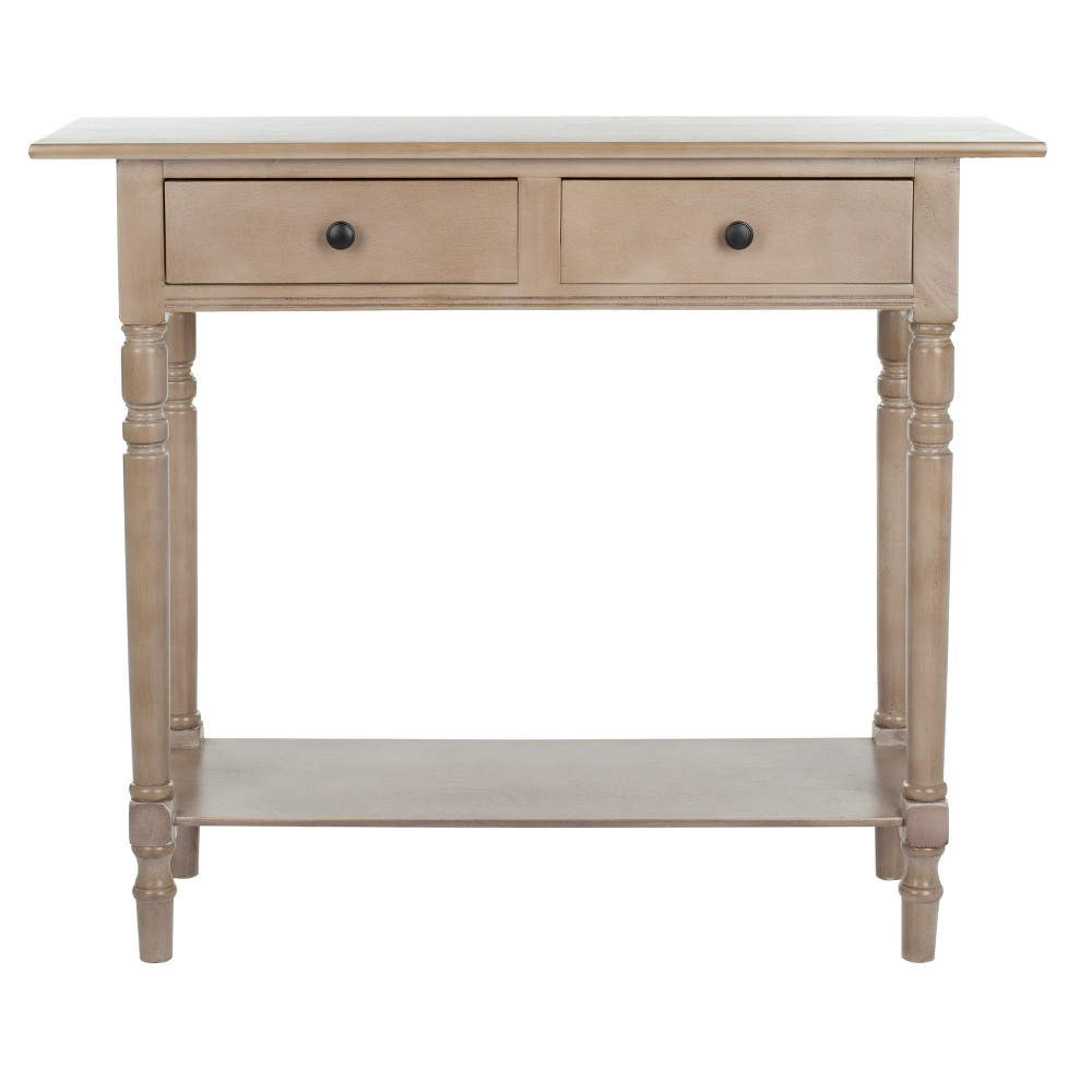 Baxter Console Table - Vintage Gray - Safavieh