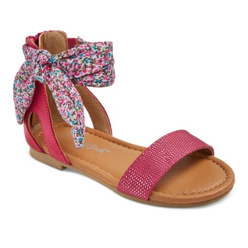 Toddler Girls' Savannah Ankle Strap Sandals Cat & Jack™ - Pink 11 - image 1 of 4