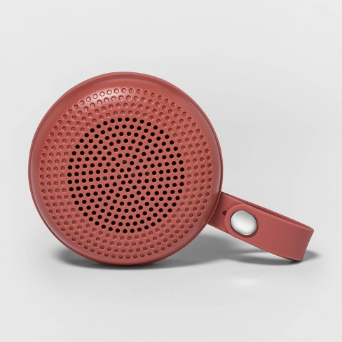heyday™ Round Portable Bluetooth Speaker with Loop - Dusty Coral - image 1 of 2