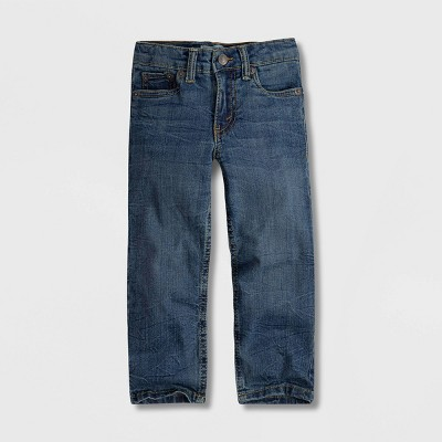 Levi's® Toddler Boys' Regular Taper Fit Jeans - Washed Up Medium Wash