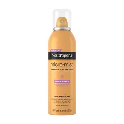 Neutrogena Micromist Airbrush Sunless Tanning Spray - 5.3oz