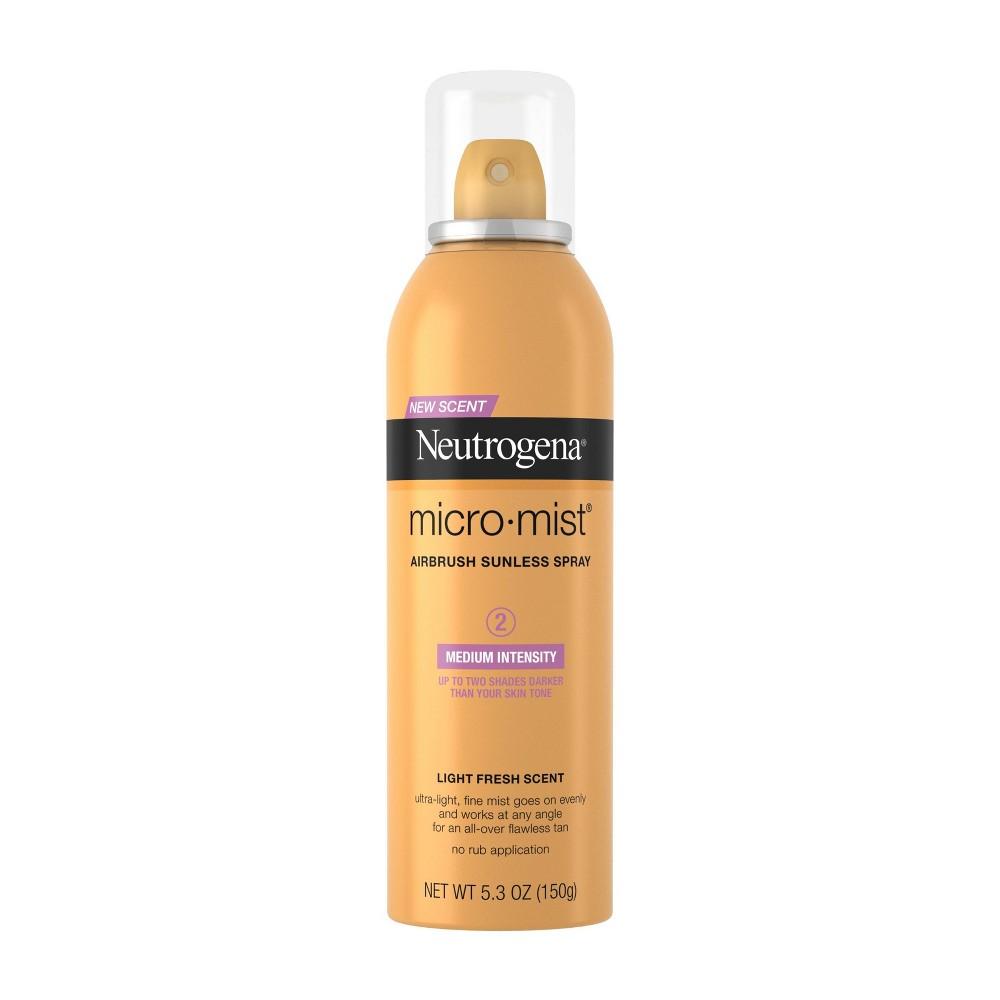 Neutrogena Micromist Airbrush Sunless Tanning Spray Medium 5 3oz