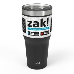 Zak Designs 30oz Double Wall Stainless Steel Tumbler