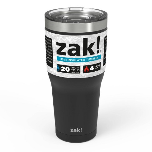 ca7024b24ee Zak Designs 30oz Double Wall Stainless Steel Tumbler : Target