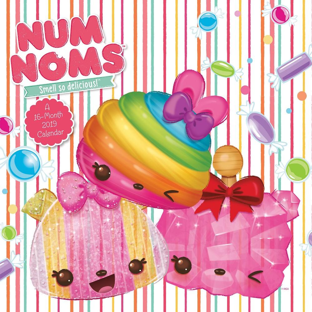 2019 Wall Calendar Num Noms - Trends International, Multi-Colored