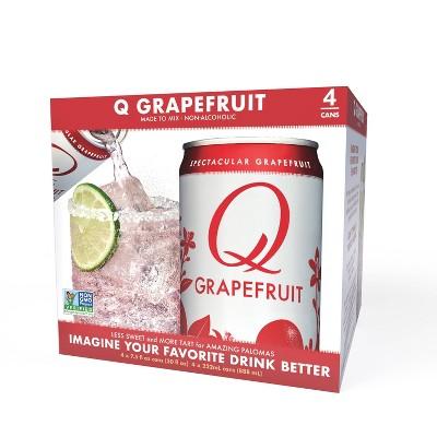 Q Mixers Grapefruit  - 4pk/7.5 fl oz Cans