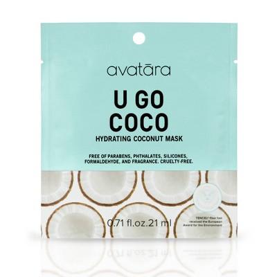 Avatara U Go Coco Coconut Hydrating Mask - 0.71oz