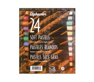 Soft Pastels Portrait Colors 24ct - Alphacolor