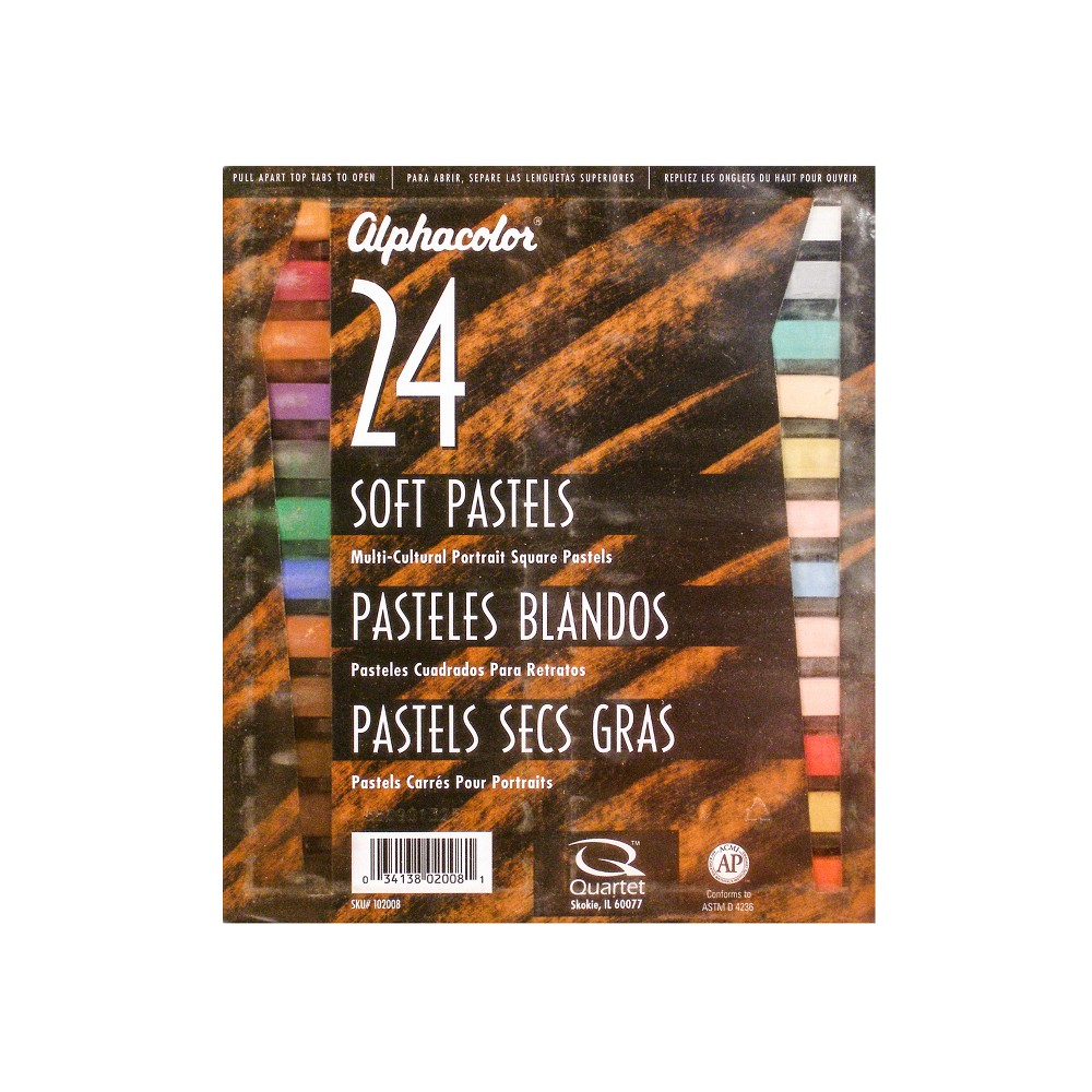 Soft Pastels Portrait Colors 24ct - Alphacolor, Multi-Colored