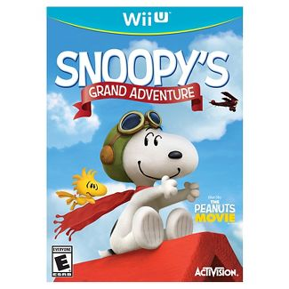 Snoopy's Grand Adventure PRE-OWNED Nintendo Wii U