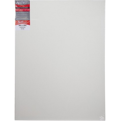 Fredrix Artist Series Stretched Canvas, 30 x 40 in, White - image 1 of 1
