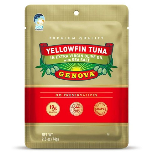 Yellowfin Tuna in Olive Oil Pouch - 2.6oz - image 1 of 2