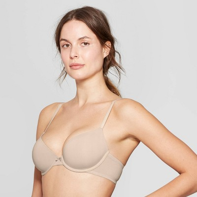 Women's Everyday Lightly Lined Demi T-Shirt Bra - Auden™