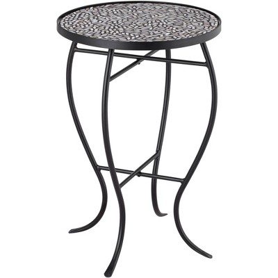 Teal Island Designs Zaltana Mosaic Outdoor Accent Table