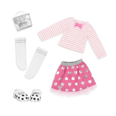Glitter Girls Deluxe Outfit - Spot the Shimmer!