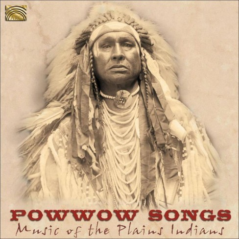 Various - Powwow songs:Music of the plains indi (CD) - image 1 of 1