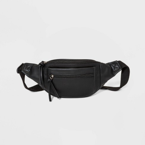 Women's Fanny Pack - Wild Fable™ Black - image 1 of 4